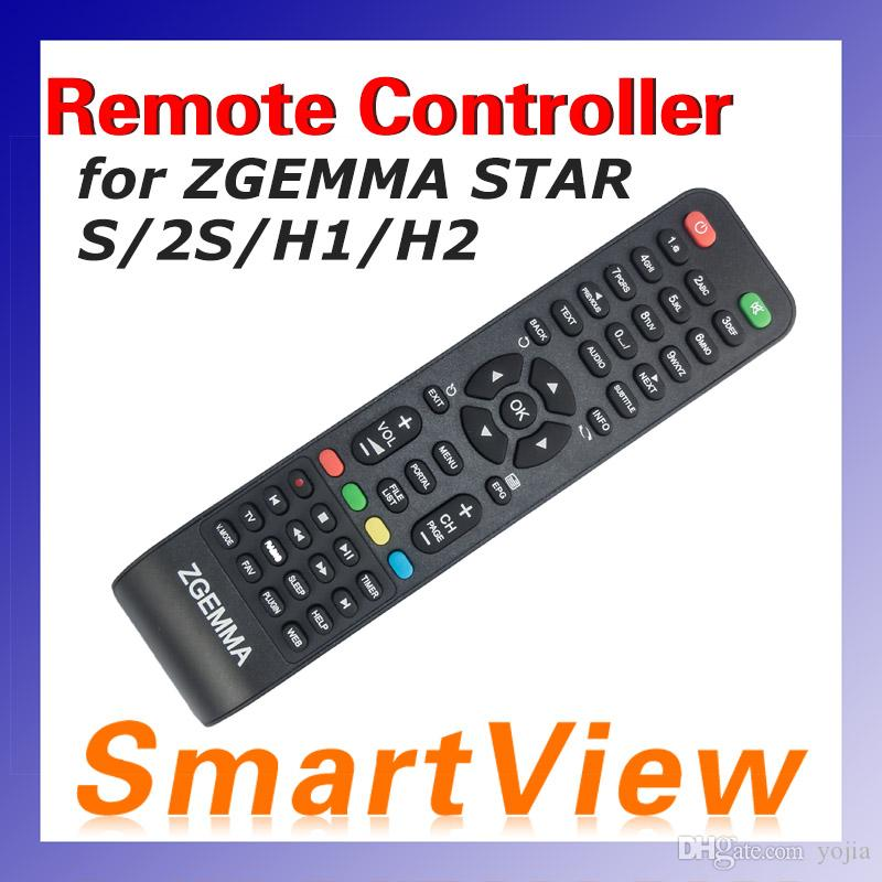 1pc Remote Controller for Zgemma Star Models H1 2S H2 zgemma S Satellite  Receiver Combo Receiver free shipping cost