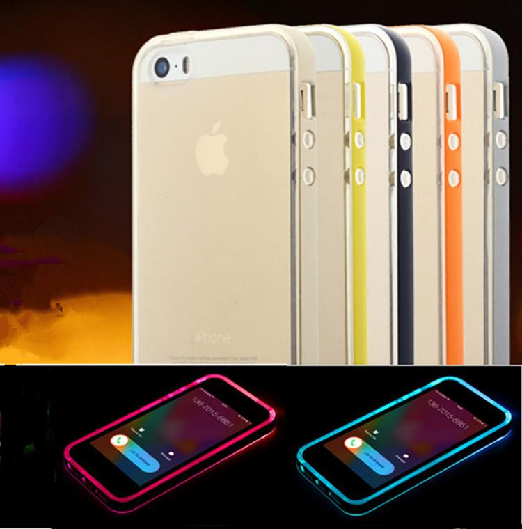 led iphone 5s case iphone 6s hybrid incoming calls flash up cases tpu pc 5722