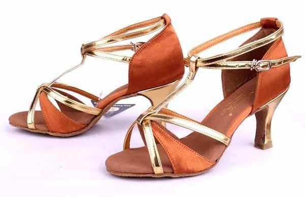 Brand New Women's Modern Ballroom Latin Tango Dance Shoes for momen heeled comfortable Girl lady 255