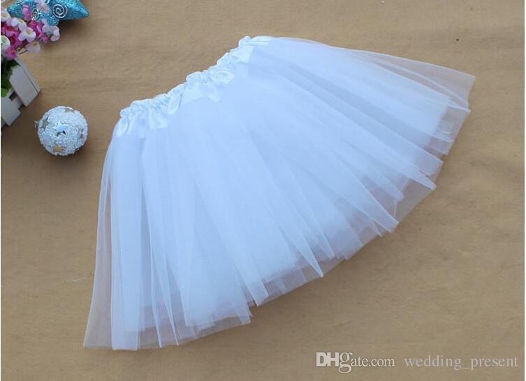 2015 Bridal Petticoats Women Girl Tulle Mini Skirts Dance Costume Ball Gown Christmas Party Stagewear Dresses Tutu Ballet Pettiskirt