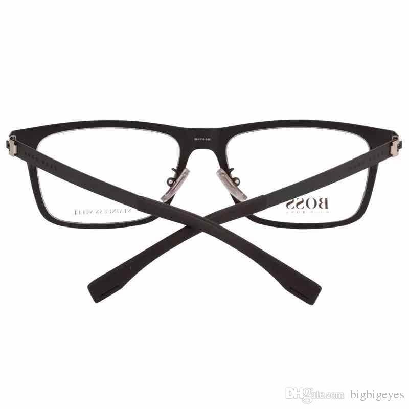 Jike New Brand Fashion Male Frame Glasses Classical Full Rim Plank ...