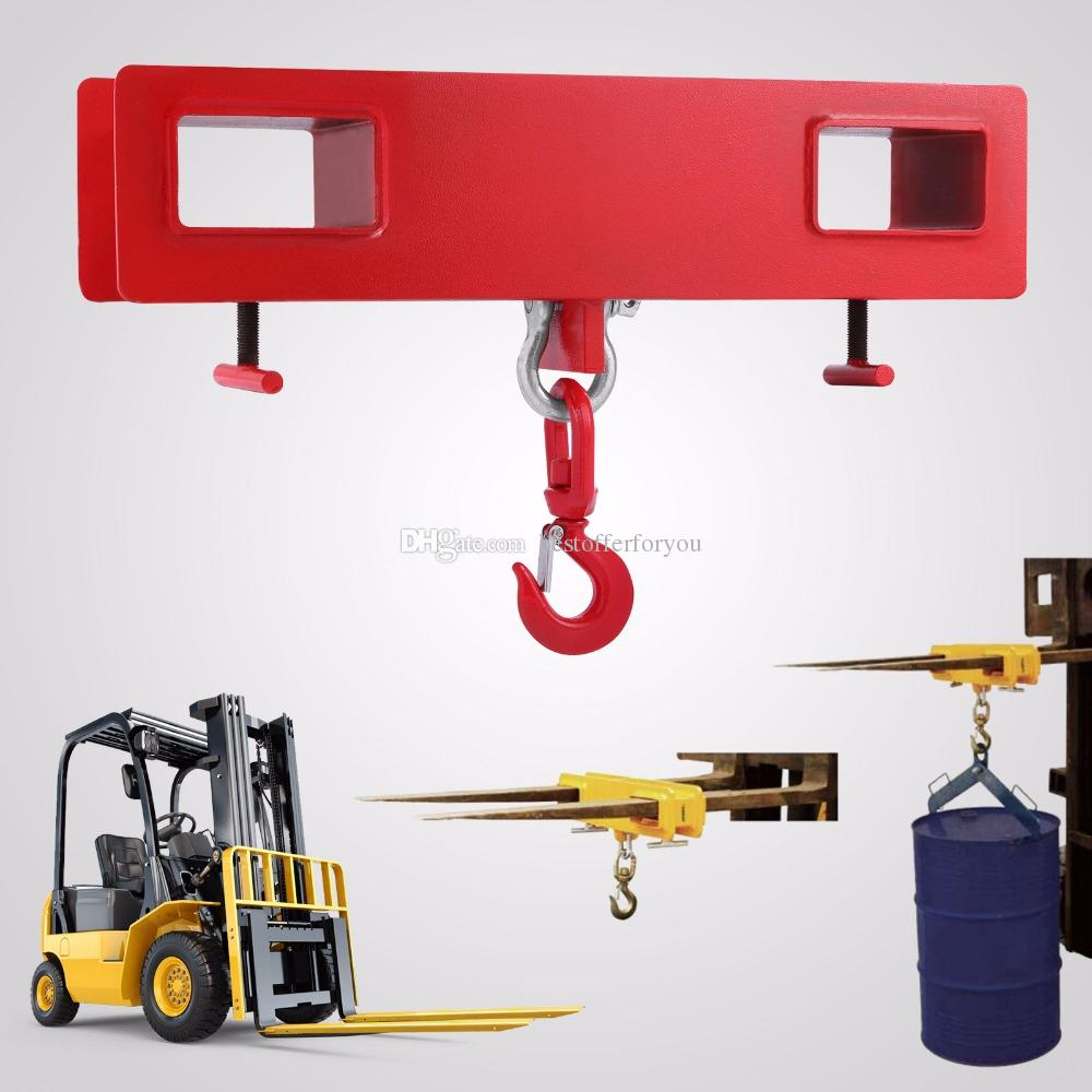 Good Forklift Lifting Hook 4000 LBS Capacity Forklift Lifting Hoist Swivel  Hook Mobile Crane Fork Lifting Attachment 2000kg