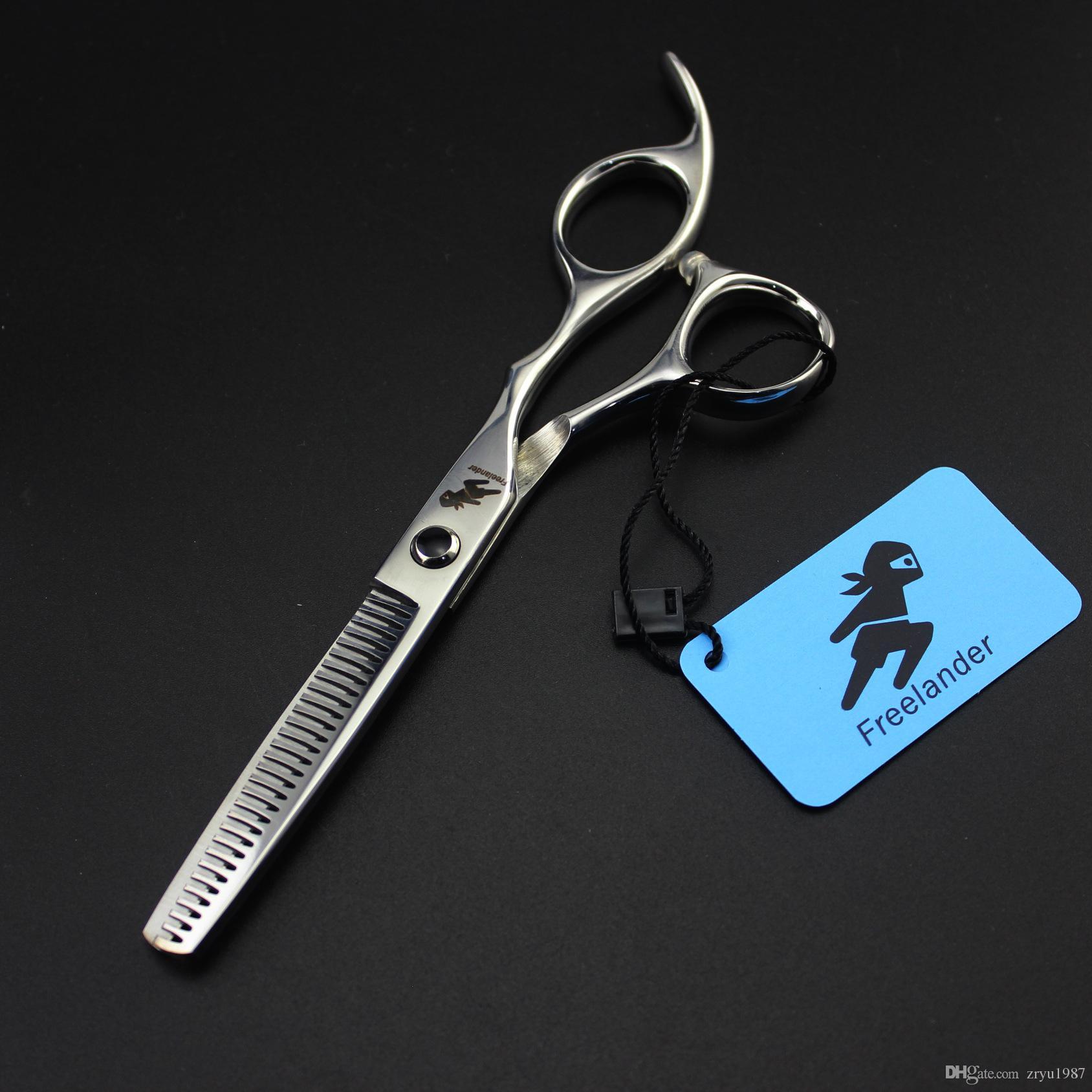 6 Inch Professional Hairdressing Scissors Hair Thinning Scissor cutting sicssor Barber Hairdresser Tool Salon Equipment with case