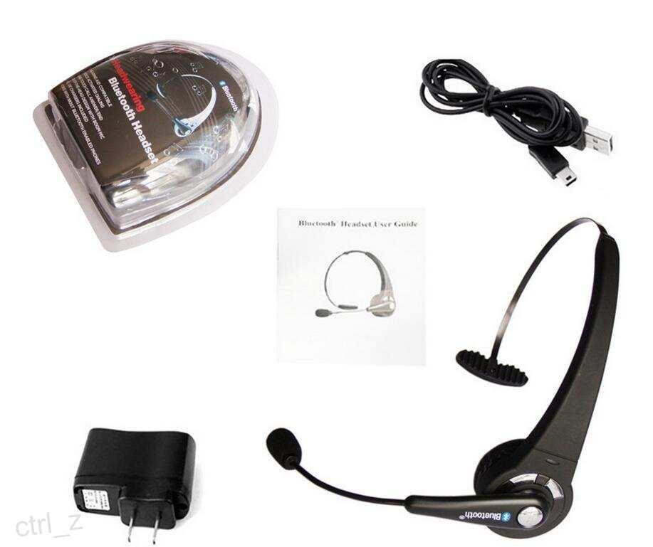 Mono Wireless Game Bluetooth Headset Kopfhörer Ohrhörer Multipoint mit Mikrofon Freisprecheinrichtung für PS3 Samsung Xiaomi Handy Laptop