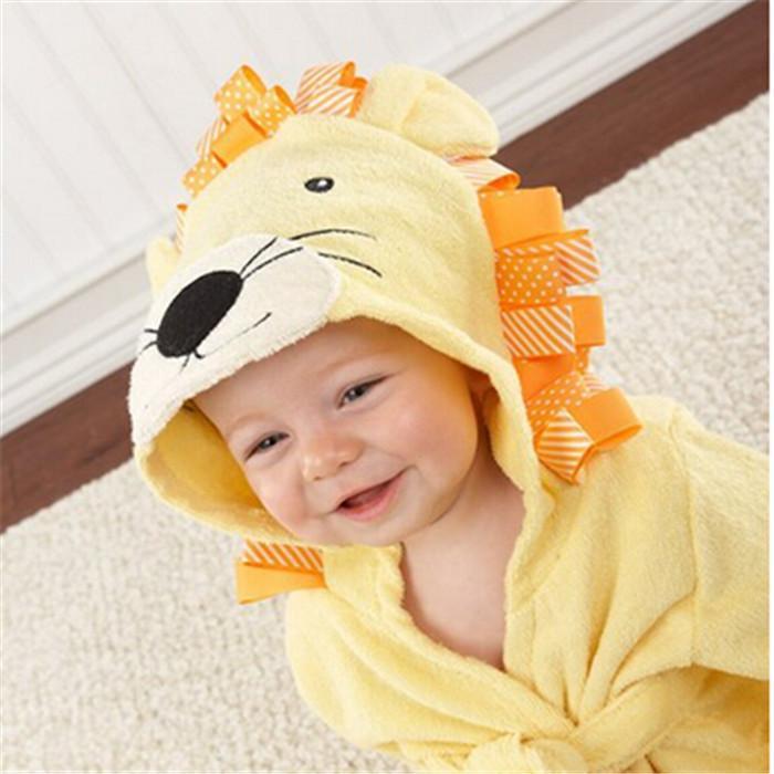 c25cdea364 new arrive best price Baby s Bathrobe 7 designs Baby Bath Towels Animal  Children Bath Robe Newborn