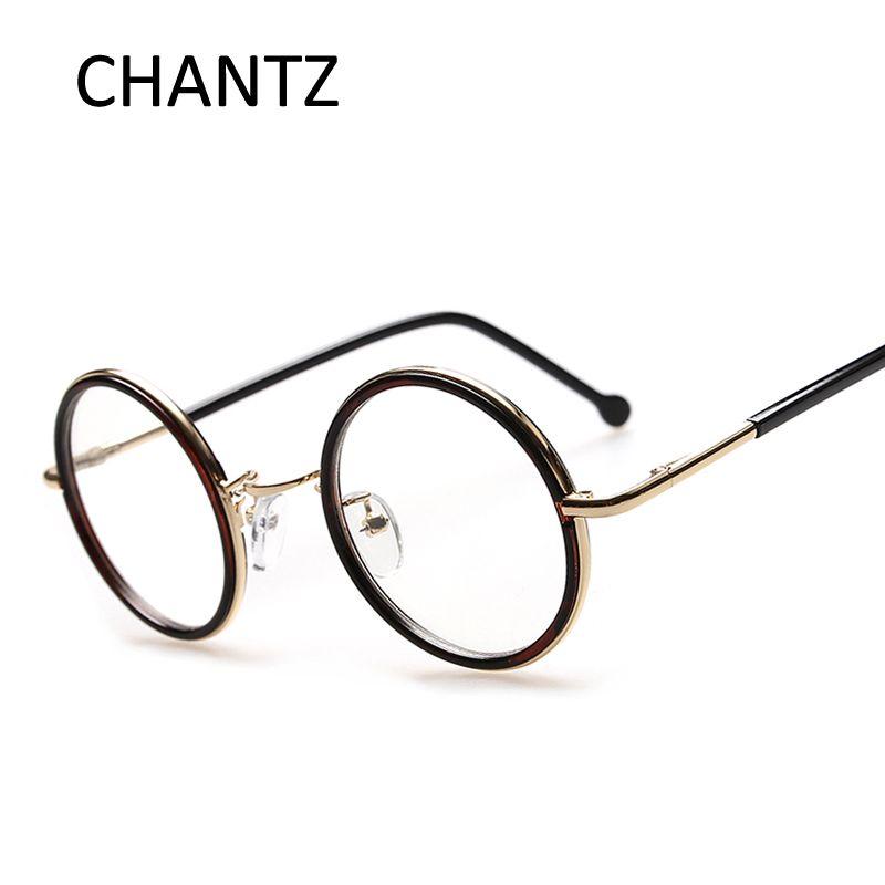 Großhandel Retro Vintage Runde Brillengestell Marke Designer Mode ...