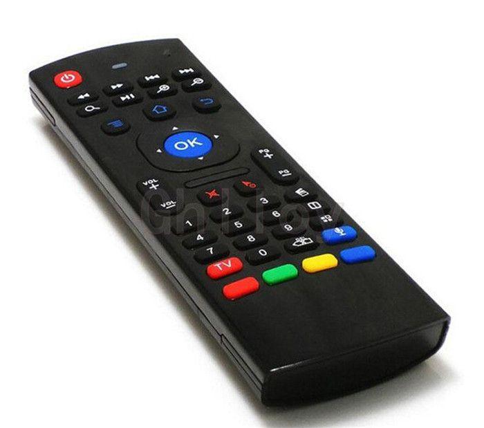 MX3 Клавиатура 2.4 ГГц Беспроводная Мини Клавиатура Fly Air Mouse ИК Обучения Пульт дистанционного управления Для Android TV Box MX3 MX MXQ M8 X8 Plus Free Ship