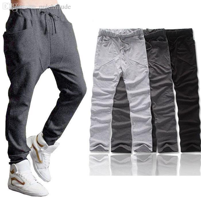 a9e103ebc5a8 2019 Wholesale Feitong 2 Styles 2015 New Fashion Men Boy Harem Baggy ...