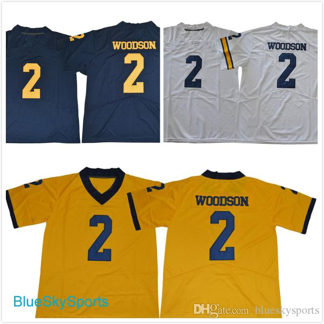 buy popular cc29d 0871c Michigan Wolverines #2 Charles Woodson Jersey 2017 New Style College  Football Jerseys White Navy Gold Stitched S-3XL