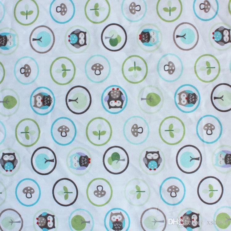 Sale!Baby bedding set Embroidery cartoon owls bird hedgehog squirrel Crib bedding set 100% cotton including Baby Quilt etc Cot bedding