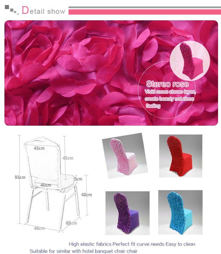 Hot Top Sale Link - 13 цветов Lycra крышки стула с розеткой сатин В подпирает Свадьба Использование Бесплатная доставка