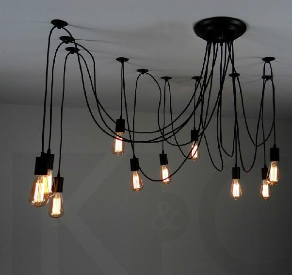 14 bulbs flexable light edison ancints vintage chandeliers diy 14 bulbs flexable light edison ancints vintage chandeliers diy ceiling pendant suspended lamp hot online with 17268piece on simplearts store dhgate mozeypictures Images