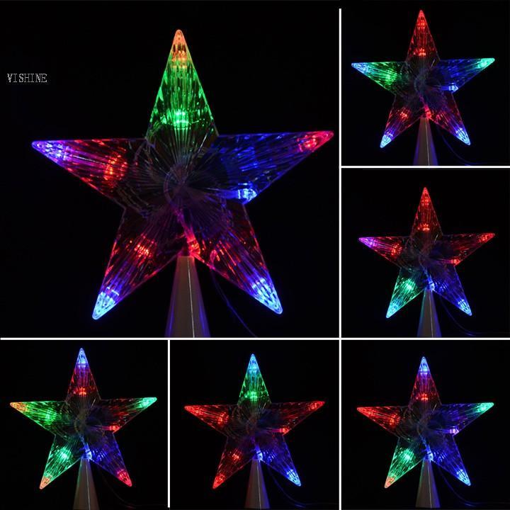 e0c0b7b606f Compre LED Interior Exterior Del Árbol De Navidad De Estrellas Enciende La  Lámpara De Navidad Decoración Partido 29 A  7.07 Del Dream420