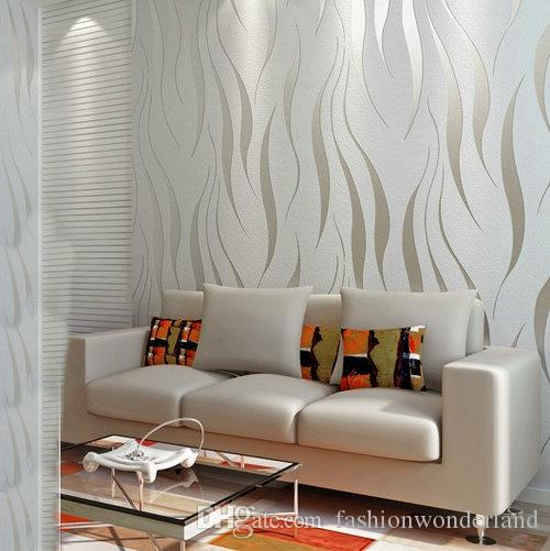 Modern Minimalism Wallpapers Non Woven Wallpaper Rolls Stripes Lines Wall  Covering Tapete Roll Background For Bedroon Living Room Decoration  Wallpaper In Hd ...