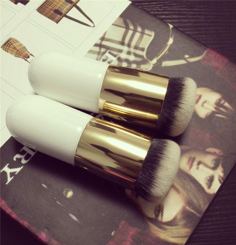 Ronda de maquillaje Flat Top Base de Maquillaje Crema BB cepillo / Bronceador herramienta pincel Kabuki