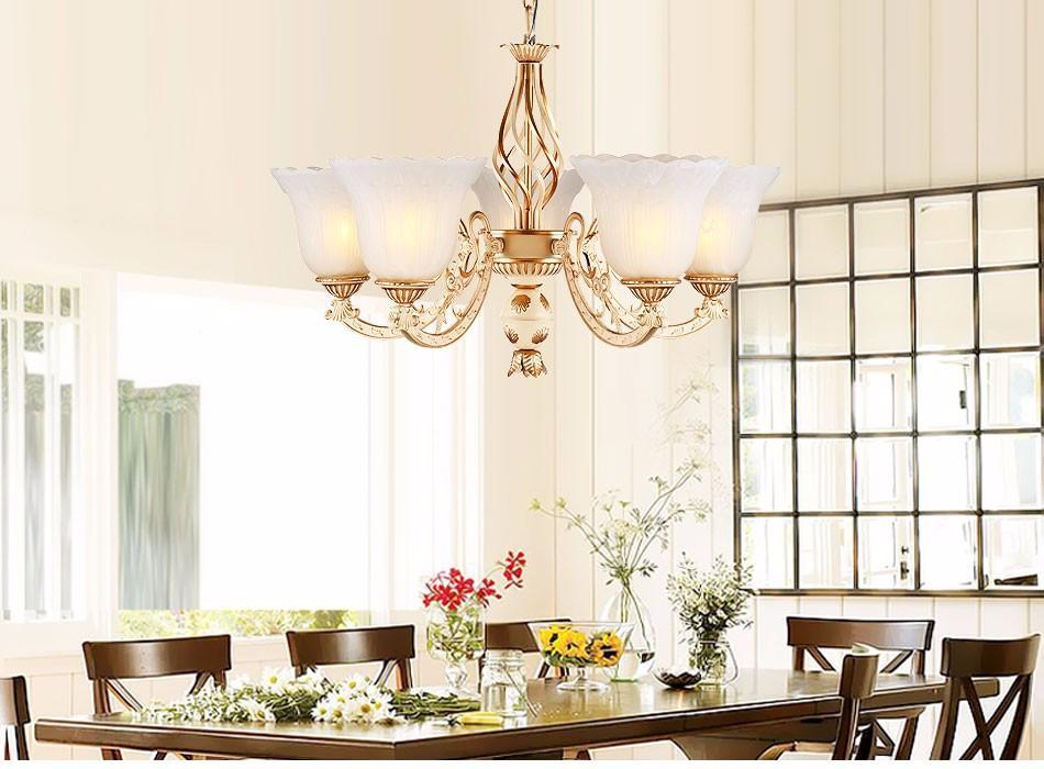 Großhandel Luxus Deckenleuchte Wohnzimmer Decor Kristall E14 Led ...