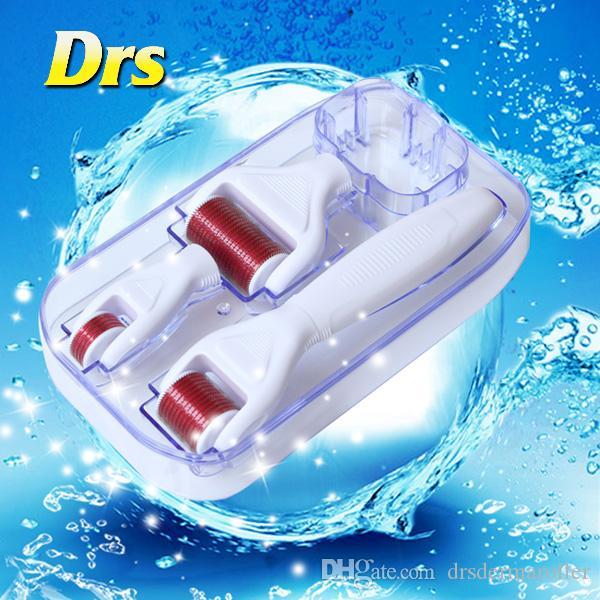 DRS 4 in 1 Derma Skin Roller Dermatology Therapy Microneedle Dermaroller Is Low Price For Skin Whitening