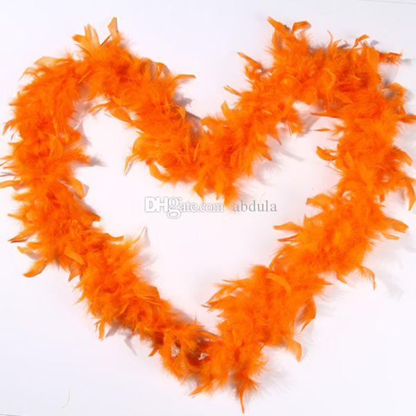 Chandelle Feather Boa Turkey Feather Boa Marabou 40g/pcs Any Colors Marabou Feather Boa for Wedding Many Colors Party Decoration