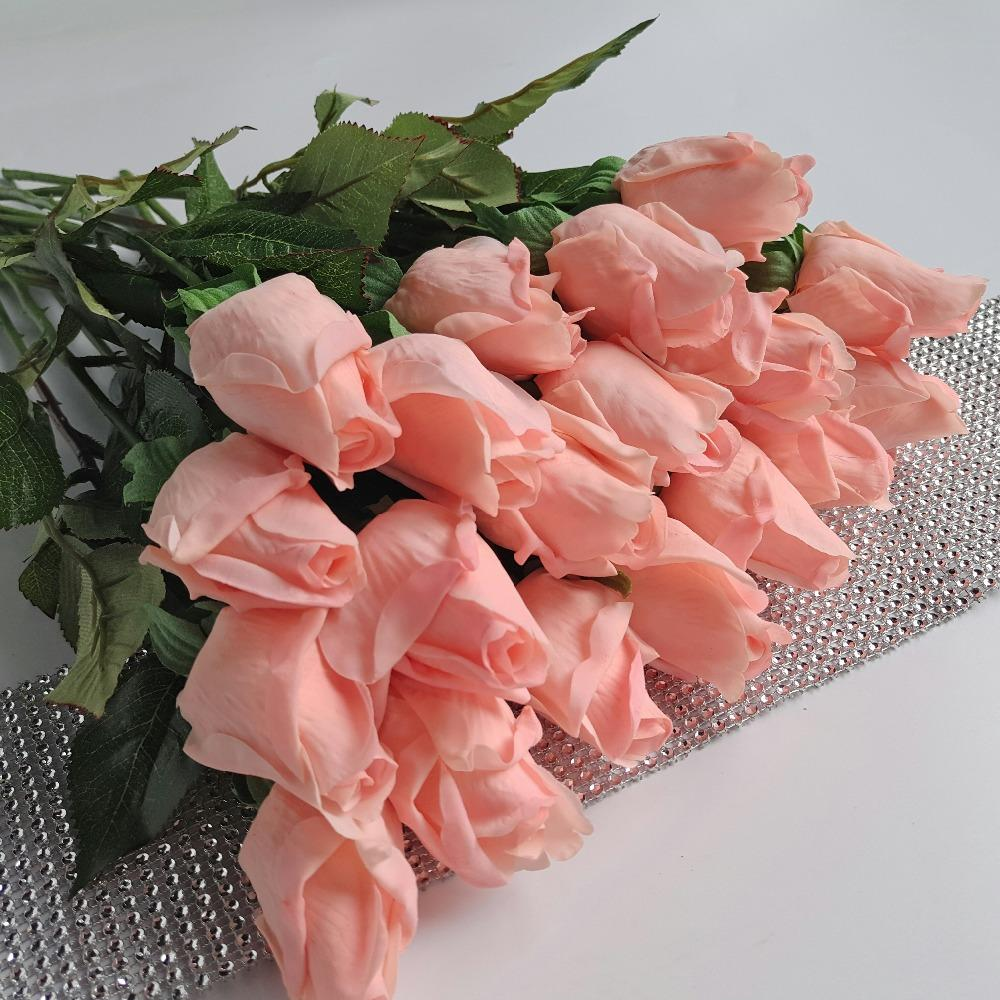 2018 Hot Sale Fresh Rose Artificial Flowers Real Touch Rose Flowers