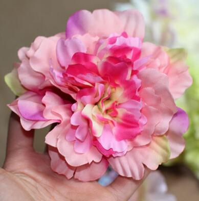 Дешево 10 см искусственные цветы свадебные поставки украшения ручной работы один цветок красочные лепестки бесплатная доставка