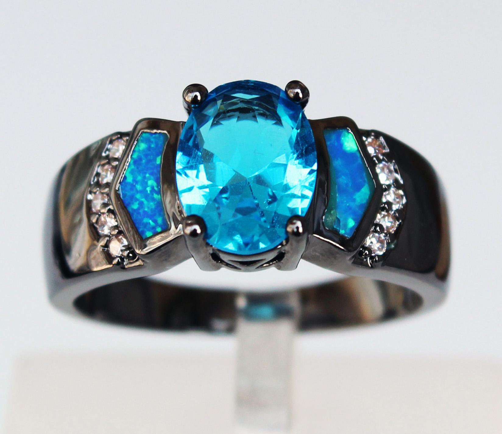 feshionn fire precious regalia genuine mystic iobi gems rings ring rainbow products topaz