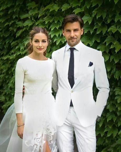 Wholesale 2015wholesale Groom Tuxedo Suit Men Beach Regular Wedding Black Tie And White Jacket Or Pant Suits Designer For From