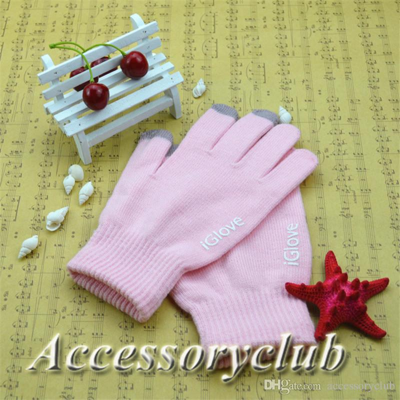 Unisex iGlove Capacitive Finger Touch Screen Glove for iPhone 5 5S 6 6S Plus iPad Smart Phone iGloves Intellegent Gloves No Retail DHL
