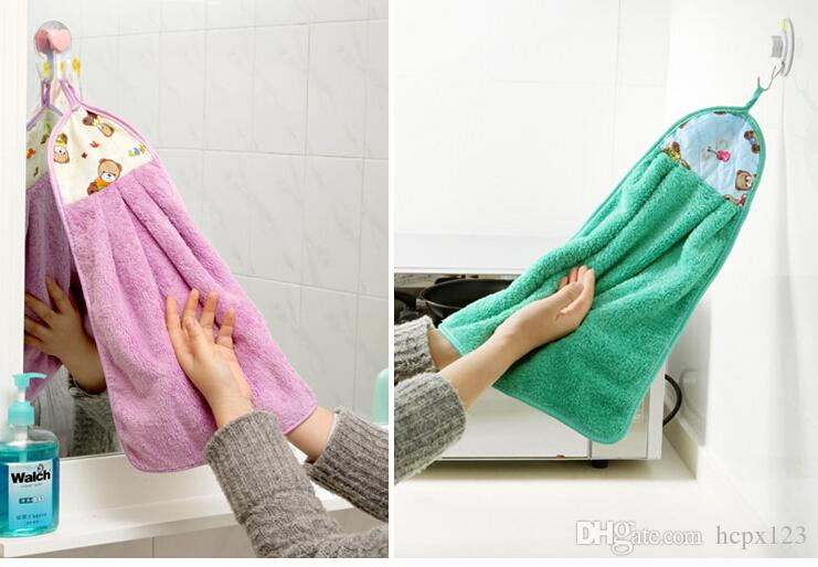 المنزل المطبخ منشفة نونستيك سماكة منشفة فائقة الامتصاص منشفة خالية من الوبر