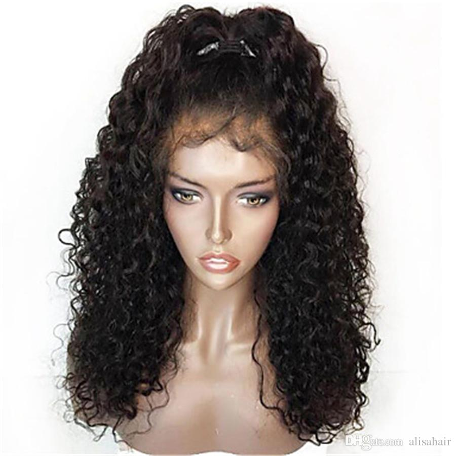 360 Full Lace Wig Kinky Curly Lace Front Wigs For Black Women Fashion Daily  Deep Curly Wig Baby Hair Remy Hair Sale The Best Full Lace Wigs From  Alisahair 9452822ced7f