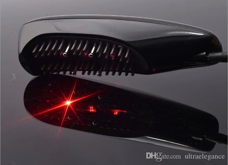 3 in1 Laser + LED Light Hair Recrowth + مشط الشعر المصغر الحالي لنمو الشعر إزالة شعر القشرة KD-3326