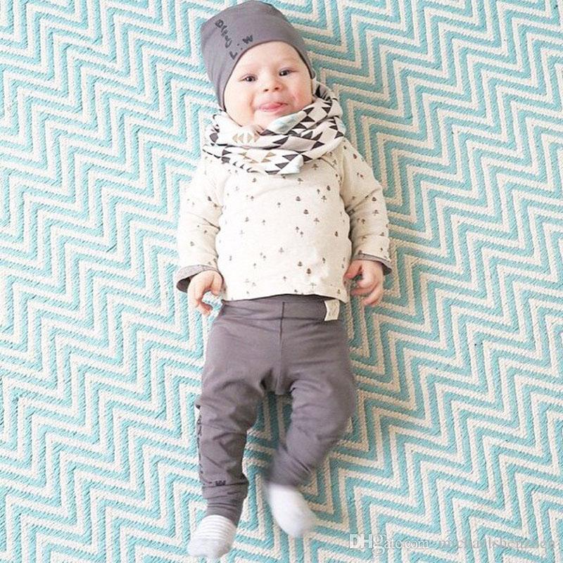 4 Design Enfants tigre Ratons laveurs Panda animal Anneau écharpe nouveau garçon fille mode Motif géométrique écharpe pur coton B001