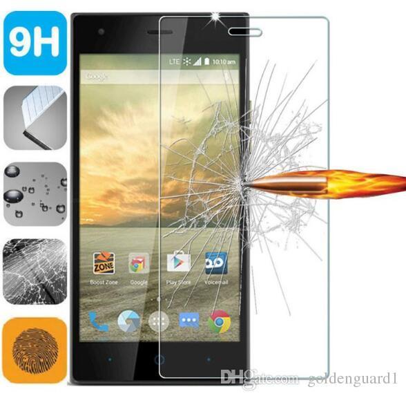 For ZTE Max XL Tempered Glass Screen Protector For ZTE Warp 7 AXON 7 Z17  MiniS L2 GF3 V8 Pro Mini A910 A520