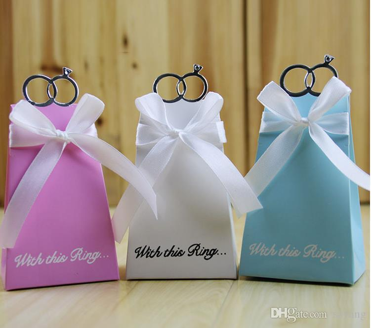 Gift Boxes Wedding Favors High Quality European Blue Pink And White Diamond Decorative Luxury Gift Boxes Gift Craft
