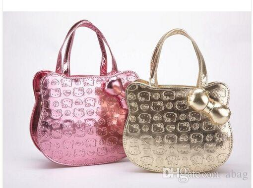 d02ec41c1a New Mini Cute Bag Children Hello Kitty Handbag Kids Tote Girls Handbag  Women Mini Bag Cheap Handbags Cheap Purses From Abag