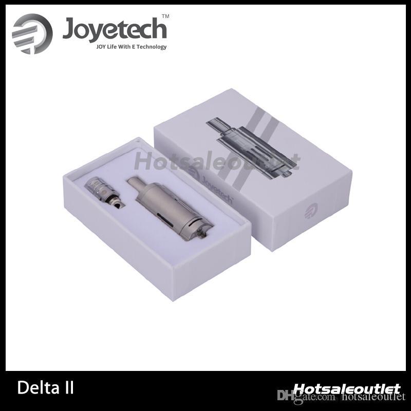 Nouveau Joyetech DeltaII Atomiseur Delta II 3.5 ml Capacité 510 Fil E Cigarette Vaporisateur Débit D'Air Réglable E Cig Clearomzier
