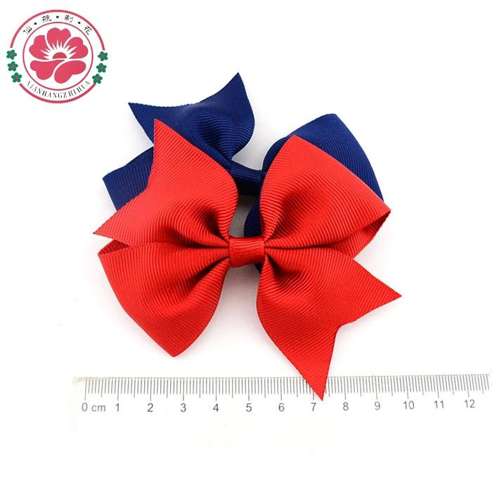 4'' Baby Girl Hair Bows Clips Boutique Hair Pin Grosgrain Ribbon Bows Hairpins Kids Girl Hair Accessories 565