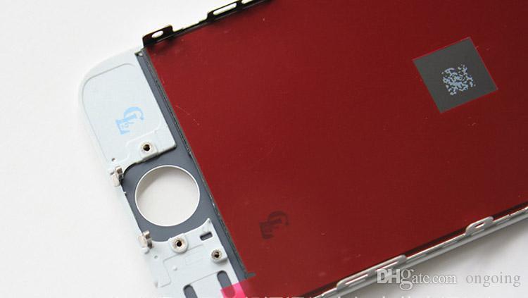Assemblea completa del convertitore analogico / digitale LCD del touch screen dell'esposizione le parti di riparazione della sostituzione di iphone 5C 5G di iPhone 5 DHL libera la nave