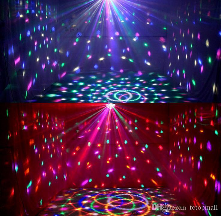 Dj Club Disco Ktv Party Bar Rgb Crystal Led Ball Projector