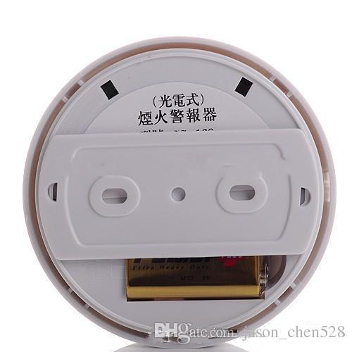 DHL free Wireless Fire Smoke Detector Home Safety Fire Alarm Additional Accessories for Security GSM Alarm Systems