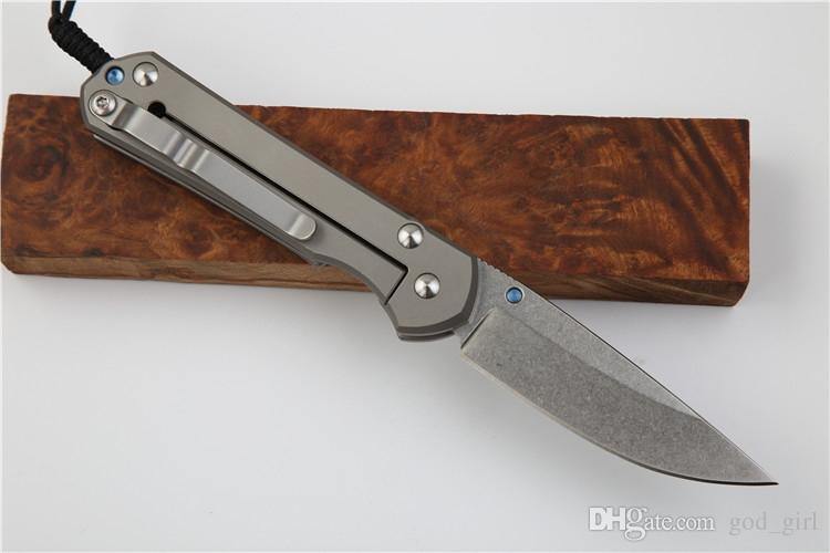 Yeni Chris Reeve küçük Sebenza 21 titanyum kolu D2 çelik bıçak bıçak katlanır bıçak kamp taktik survival bıçak edc aracı