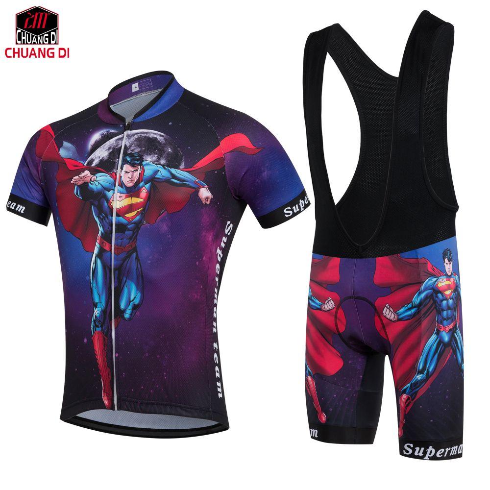 29d0b8c47 Superman Cycling Jersey 2018 Ropa Ciclismo Hombre Racing Cycling Clothing  Bicicleta Bike bicycle Jersey Short Sleeve Summer Men Cycling Jersey Cycling  ...
