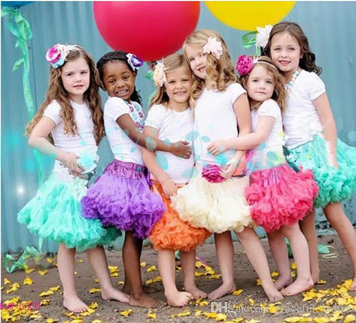 성인 사이즈 짧은 파티 드레스 투투 스커트 XL 48CM 특별한 경우 드레스 스커트 탄성 Tulle 투투 스커트 주니어 신부 들러리 소녀들을위한