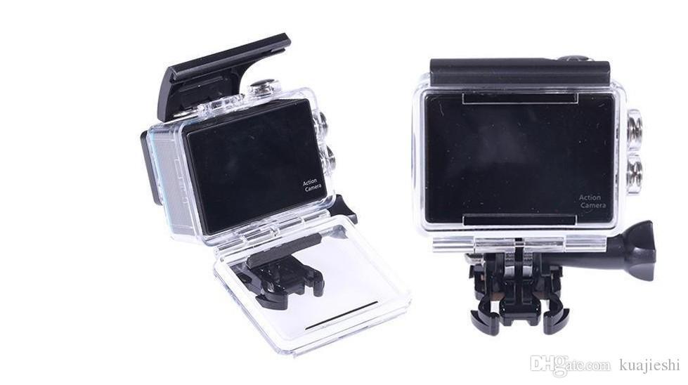 Hohe Auflösung 4K, die DV-Luftbewegungskamera WIFI-Tauchen wasserdicht ist, Tätigkeits-Videokameras, 1080P HD-Video-DV-Antenne FPV wasserdicht, Foto