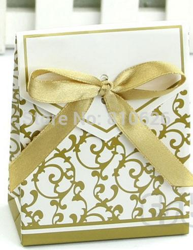Gold Ribbon Gift Paper Bags Engagement Anniversary Wedding Party Cake  Favour Favor Gift Boxes Yellow Favor Boxes Beach Wedding Card Box From  Happy weddings 198059166a96