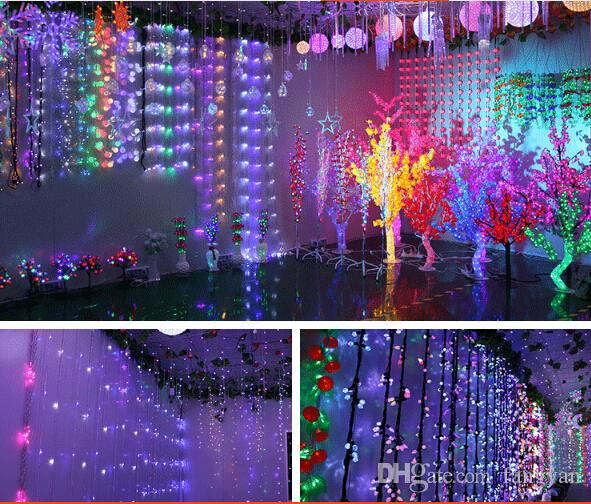 IP65 waterproof 30CM Meteor Shower Rain Tubes LED Light For Halloween Chrismas Party Wedding Tree Lighting Decoration
