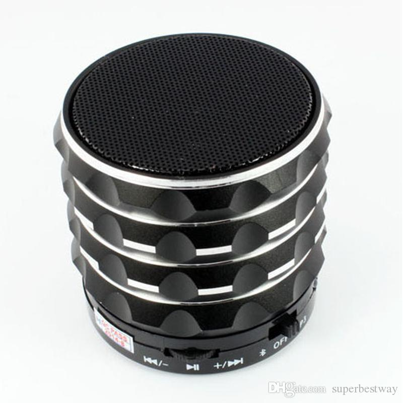 Mini S18 Bluetooth Speaker Hand Free Subwoofer Portable Music Players With Gift Box DHL Free MIS077