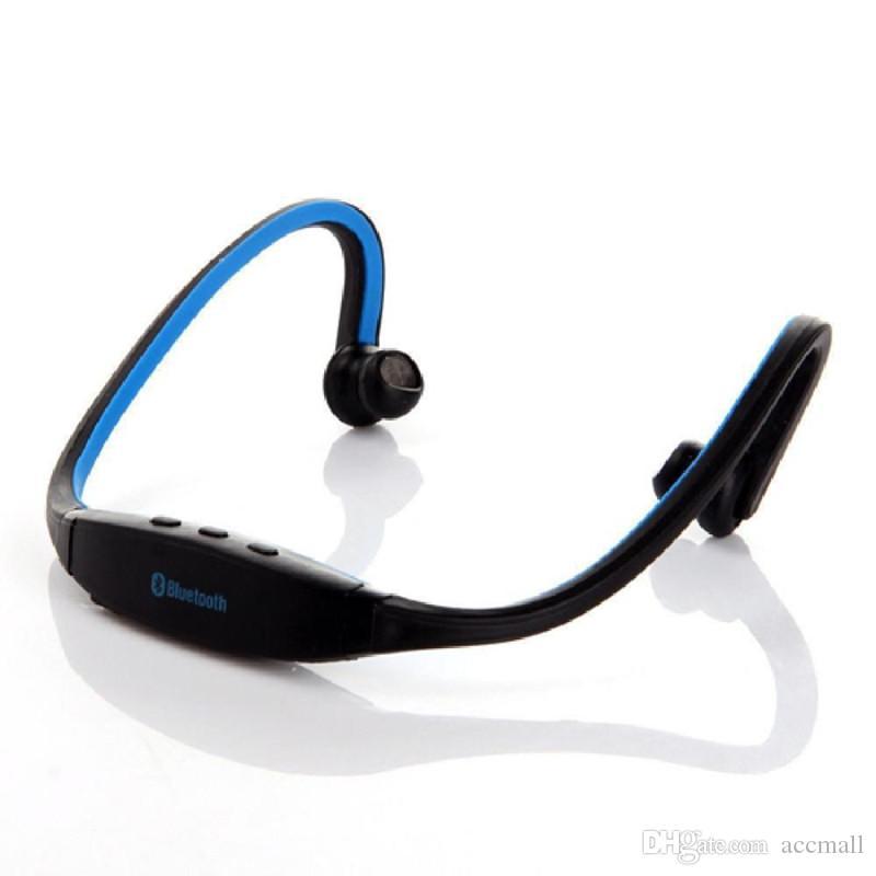S9 Sans Fil Bluetooth Casques Stéréo Grand Corne Sport Bandeau Écouteur Casque HiFi Lecteur de Musique Pour iPhone Samsung Mobile Appeler