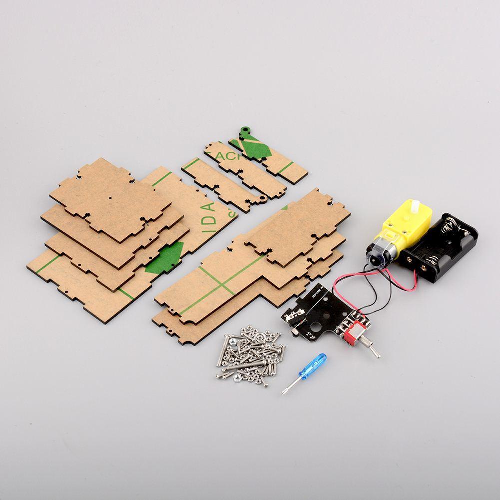 Ultimate Magic LEAVE ME ALONE Useless Box Kit Machine Science Kit DIY Version Assembled Kit Geek Gift, dandys