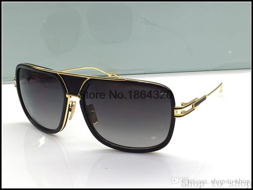 281f5acf78 DITA Sunglasses Dita Grandmaster Five Logo Brand Sunglasses Retro Vintage  Summer Style Men Brand Designer Luxury Gold Glasses Cycling Sunglasses  Running ...