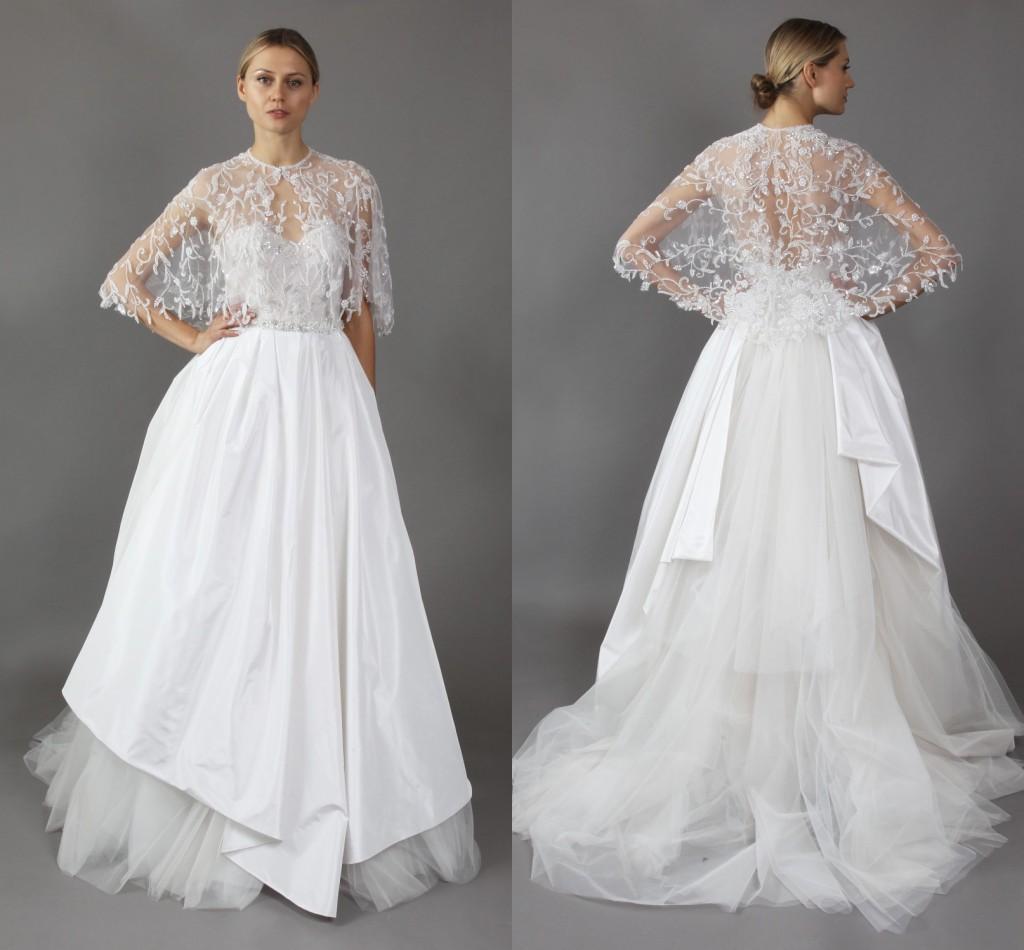 Discount 2016 Wedding Dress Mira Zwillinger A Line Appliques Lace